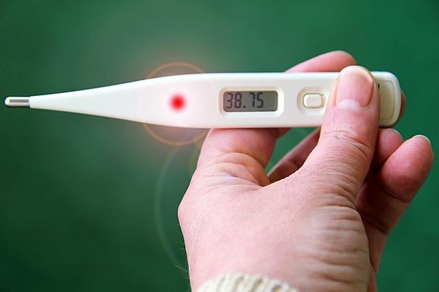 temperatura u niemowlaka