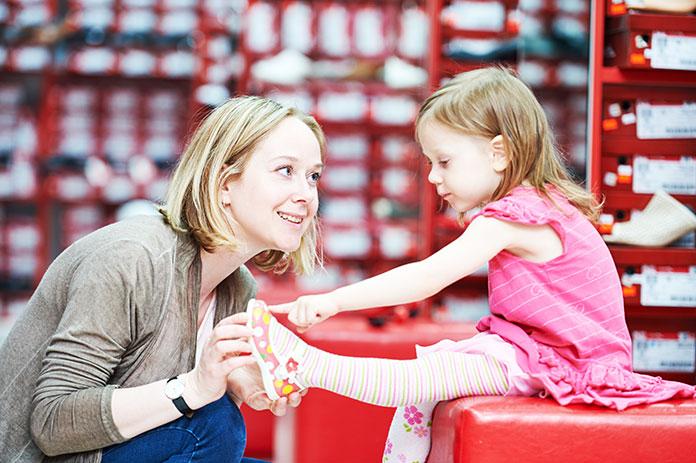 Wygodne obuwie dla dziecka