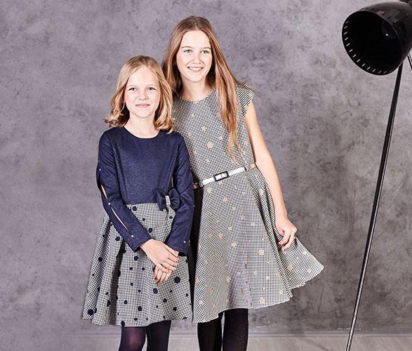 Idealne sukienki dla dziewczynek na Wigilię i Święta