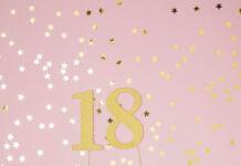 Dekoracje urodzinowe z balonami na 18 urodziny